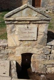 Source de saint Joseph - Cotignac - Accès pour les pèlerins