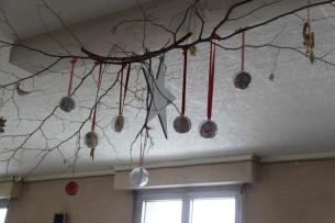 Des décorations aériennes pour fêter Noël !